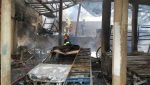 Incêndio destrói três galpões de empresa em Santa Luzia (MG) - Notícias